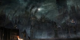 The city of Yharnam in