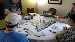 First game room at Mysticon,
