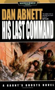 """His Last Command"" cover."