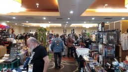 Second picture of the Mysticon showroom.