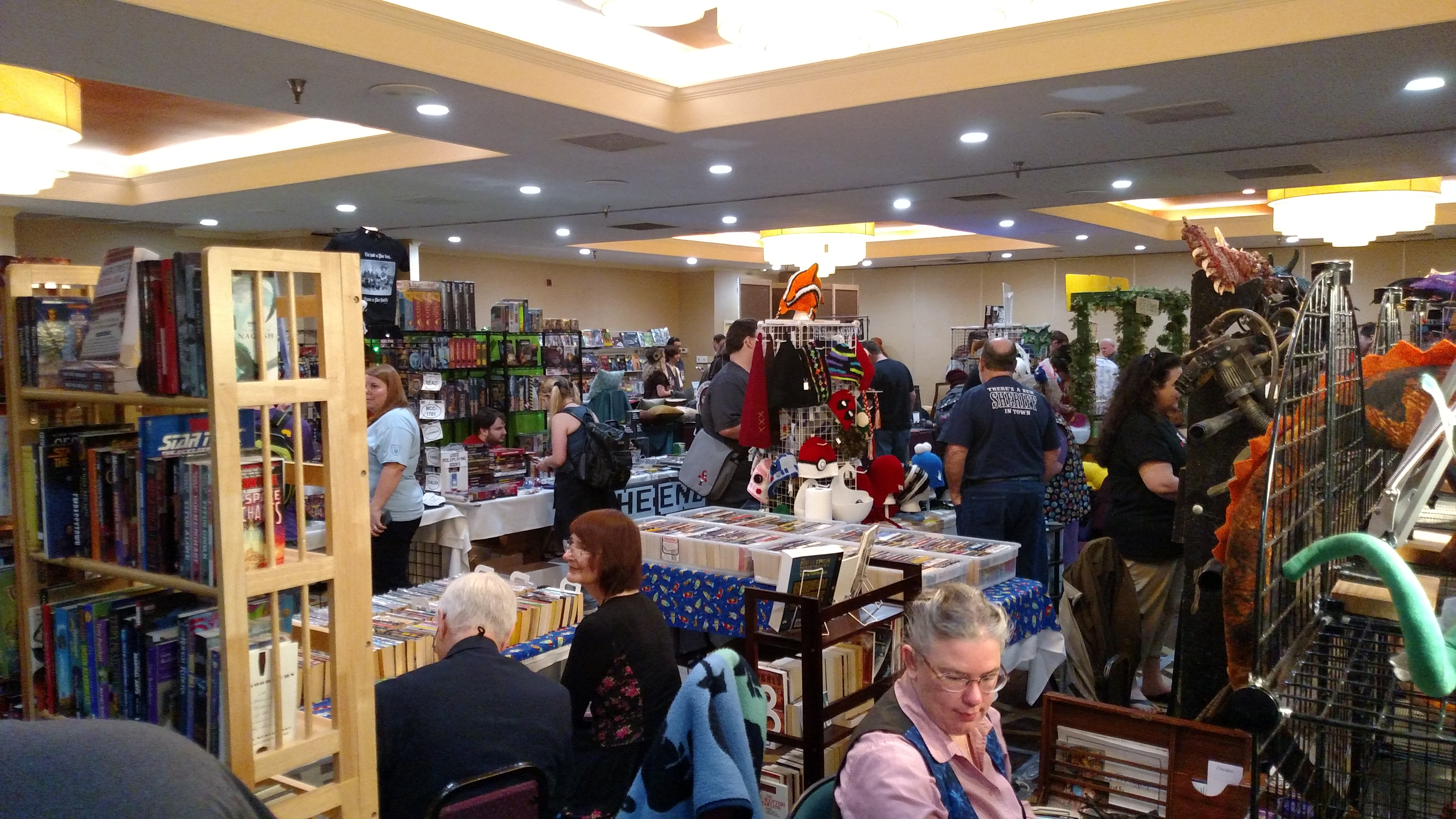 Third picture of the Mysticon showroom.