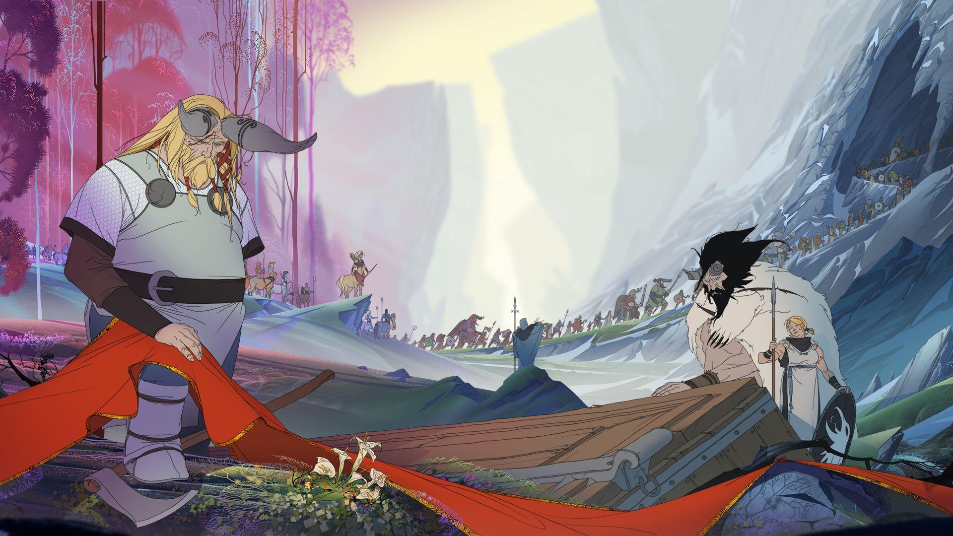 Banner Saga 2, by Stoic.