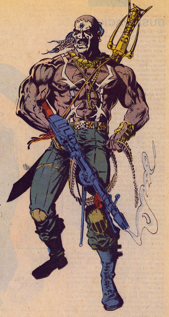 Raul Bushman, from Moon Knight comic series.