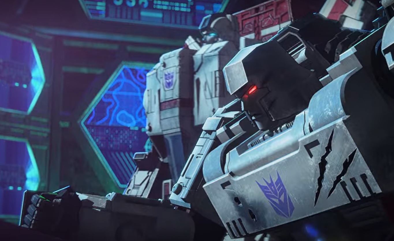 Jetfire and Megatron in